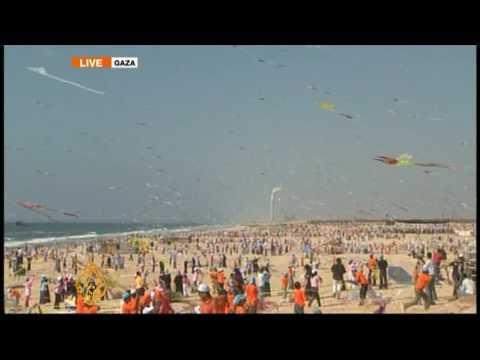 Gaza kids eye kite-flying world record  - 30 July 09