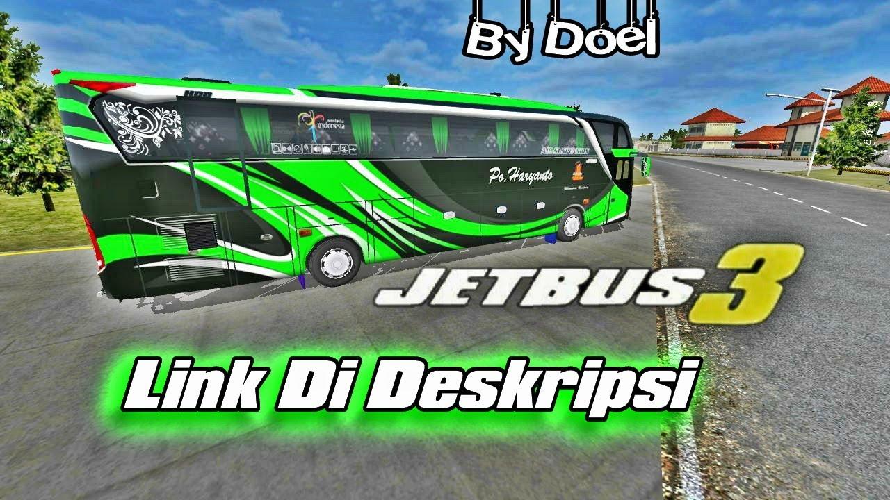Po Haryanto Jetbus 3 Link Livery Bussid Bus Simulator Indonesia