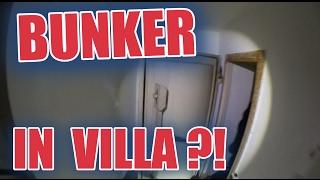 LOSTPLACE : Bunker in Villa gefunden | ItsMarvin