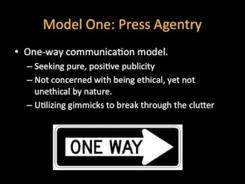 PR Roles and Models