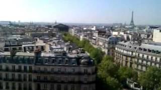 Париж с высоты птичьего полёта 1
