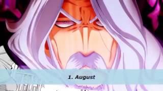Fairy Tail - Top Strongest Spriggan 12 Members