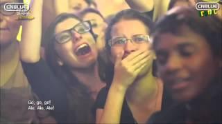 Participação do CNBLUE no Music Bank realizado no Brasil legendado.