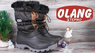 Женские зимние дутики Olang Laura 81/Nero| Италия | . Видео обзор от STEPIKO
