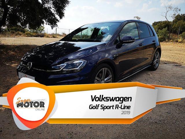 Volkswagen Golf Sport R-Line 2019 / Al volante / Supermotoronline.com