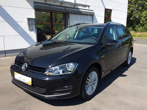 vw golf vii 1 6 tdi variant deep black youtube. Black Bedroom Furniture Sets. Home Design Ideas