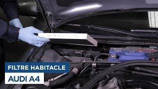 Audi A4 - Changer le Filtre d'Habitacle
