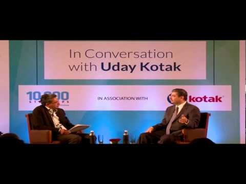 In Conversation with Uday Kotak