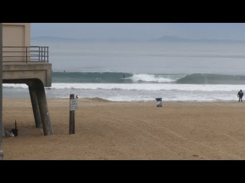 Huntington Beach, CA, Surf, 12/7/2019 AM - Part 2