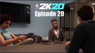 NBA 2K20 My Career Episode 20   2nd Endorsement Deal With Gatorade