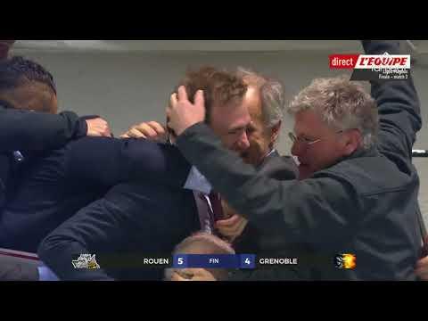 Finale Ligue Magnus Rouen 5 - 4 Grenoble