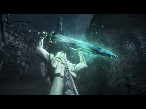Bloodborne ► Holy Moonlight Sword (DLC Weapon Review)