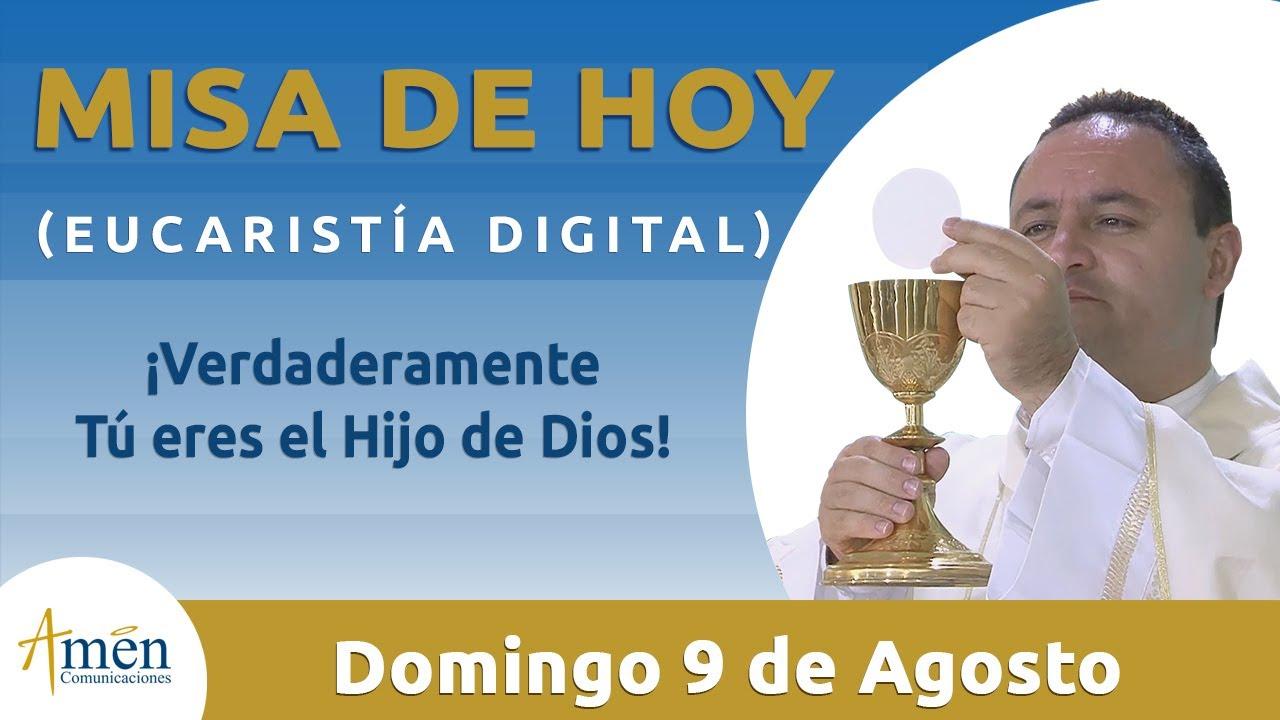 Misa de Hoy Eucaristía Digital Domingo 9 de Agosto 2020 l Padre Fabio Giraldo