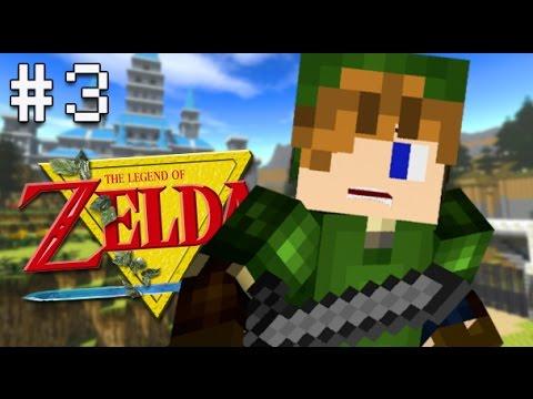 Minecraft PS4 - Legend of Zelda Adventure - Part 3 ( LoZ Ocarina of ...