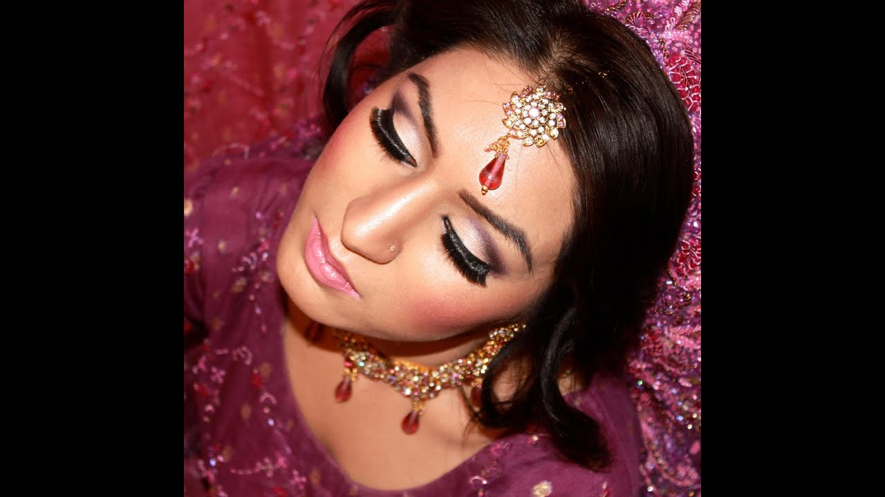 Asian Bridal Hair and Makeup Tutorial - HD - YouTube
