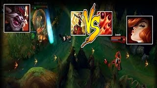 Best Of LoL Moments 56 - Kled Frightened When Miss Fortune Ultimate  (League Of Legends)