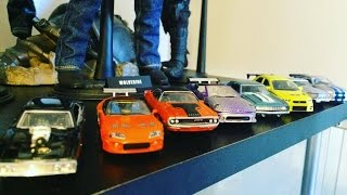 The biggest Fast and Furious diecast collection part 1 Hot Wheels/ Racing champion
