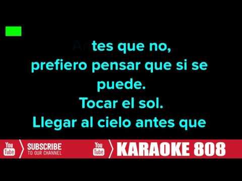 David Bisbal - Antes Que No Lyrics | Karaoke 808