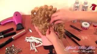 Как заплести объемную косу