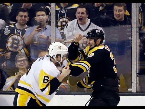 Zdeno Chara breaks down his fight vs. Jamie Oleksiak