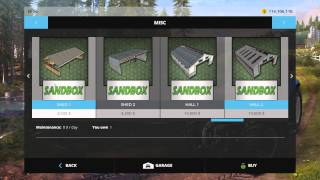 Farming Simulator 15 PC Mod Showcase: Placeable Buildings