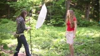 Уроки фотографии. Пример съемки с внешней вспышкой.