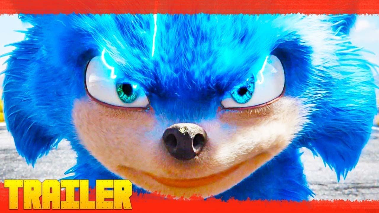 Sonic La Película Eng Tráiler Oficial 2020