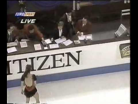 Krisztina Czakó European Championship 1996 free program