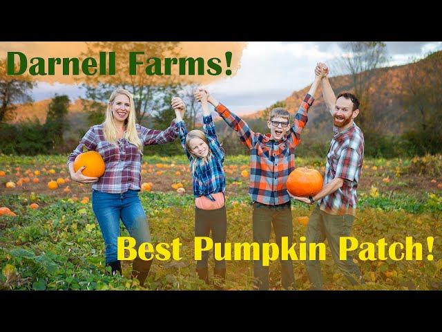 Darnell Farms Wins Best Pumpkin Patch! | North Carolina | RV Travel