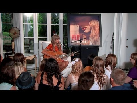 Taylor Swift - Acoustic Performances from RED Album thumbnail