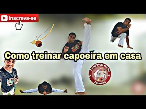 Capoeira como treinar em casa nos feriados