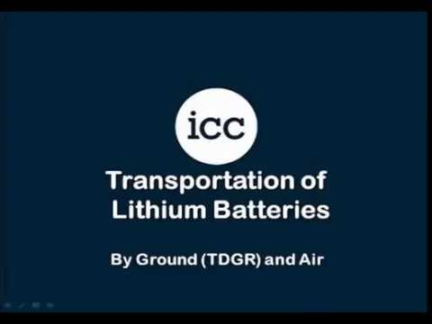 Shipping Lithium Batteries by Ground & Air (Canada)