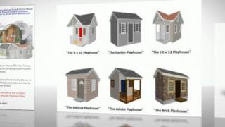 Creative And Unique Playhouse Plans - Raised Playhouse Plans