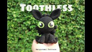 Toothless Amigurumi Pattern | Changplai.Ploy