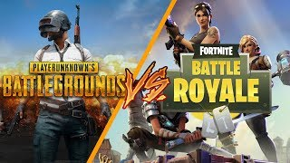 PUBG vs. Fortnite: Are they really that similar?