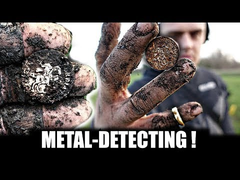 BONS!! WAT EEN KLAPPERS !! METAALDETECTEN GOUD ZILVER MUNTEN EN MEER!
