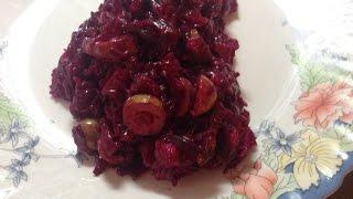 Легкий салатик из вареной СВЕКЛЫ и КУРИНОЙ ГРУДКИ/понравится всем
