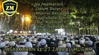 Gambar cover SUMPAH PAKE HEADSET BIKIN MERINDING DAN NAGIH - KUMPULAN SHOLAWAT LIVE ZAADUL MUSLIM
