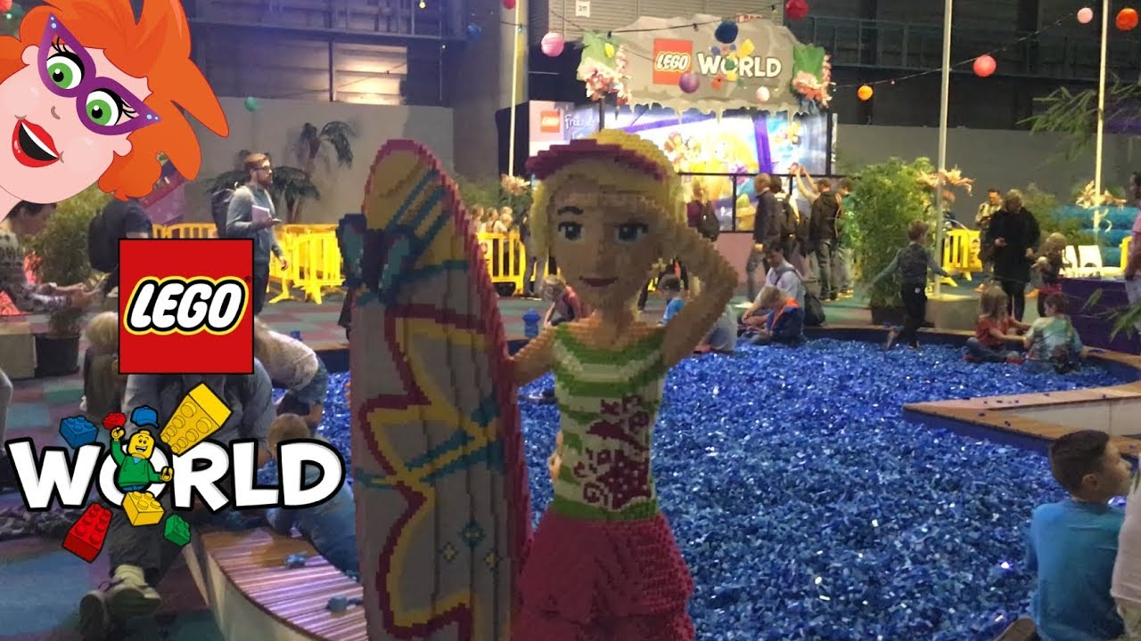 Lego world 2017 in utrecht jaarbeurs vlog youtube for Jaarbeurs utrecht 2016