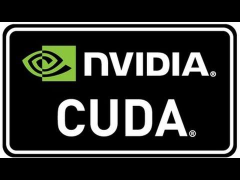 Драйвер Nvidia Cuda