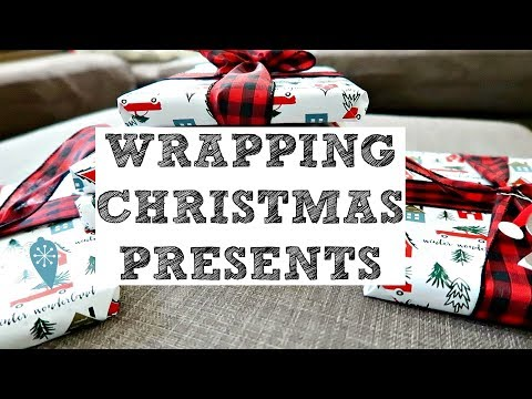 CHRISTMAS SHOPPING & WRAPPING PRESENTS