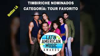 Timbiriche en el Madison Square Garden y nominados en los Latin ...