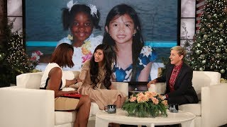 Ellen Helps Reunite Long Lost Friends Wh...