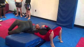 MMA TRAINING SUPLEX/BACK ARCH