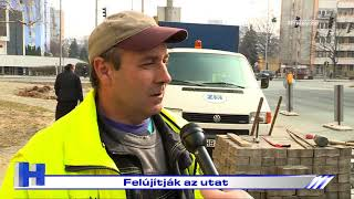 Felújítják Az Utat – ZTV Híradó 2021-03-08
