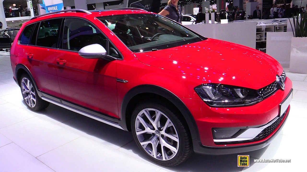 2015 volkswagen golf alltrack tdi 4motion exterior interior walkaround 2014 paris auto show. Black Bedroom Furniture Sets. Home Design Ideas