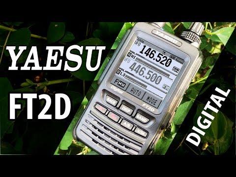 Yaesu FT2D Цифровая Японская Рация Обзор Вскрытие Тест