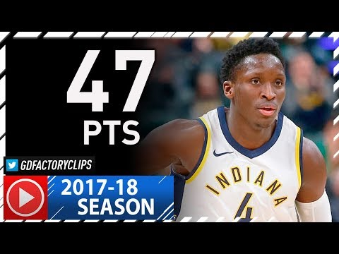 Victor Oladipo AMAZING Full Highlights vs Nuggets (2017.12.10) - 47 Pts, 7 Reb, Career-HIGH!