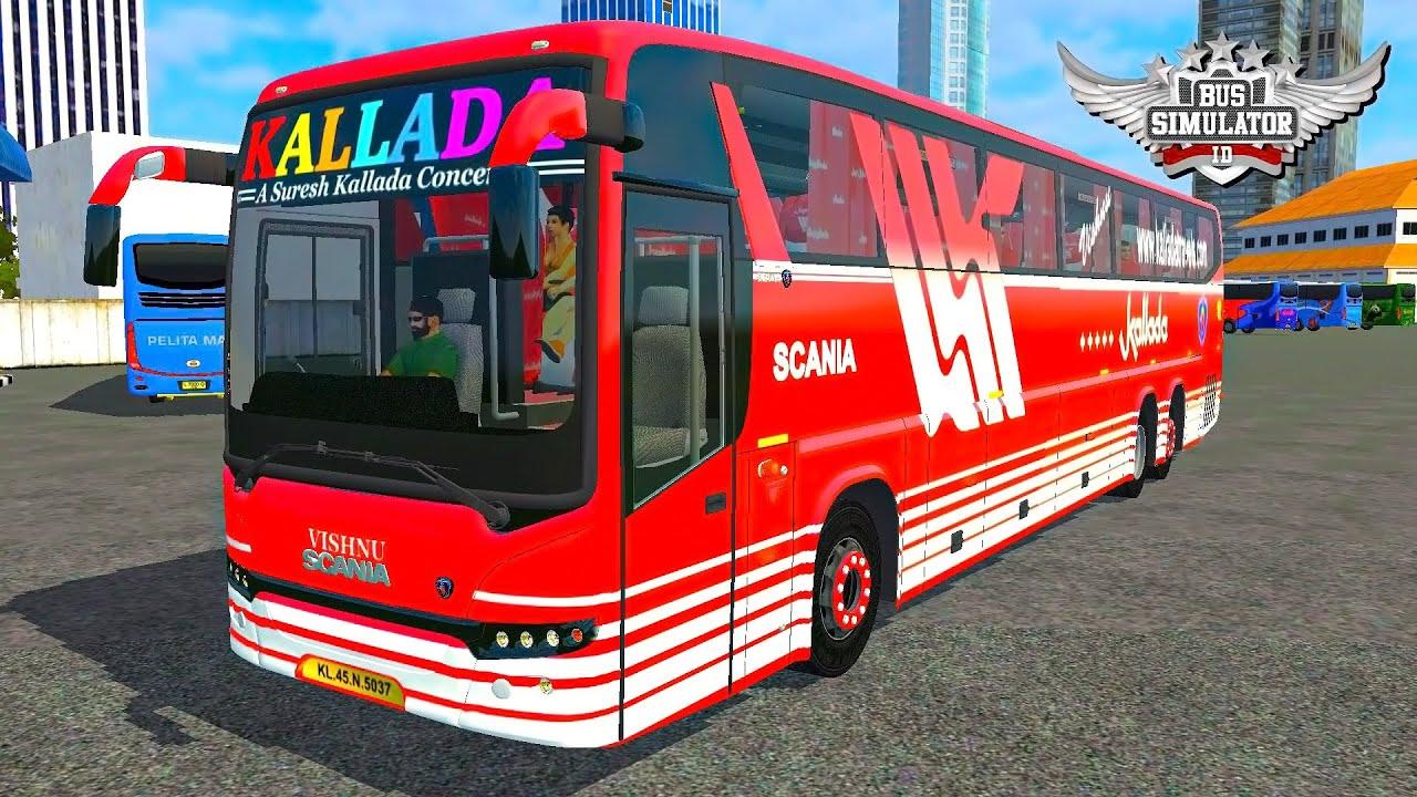 Scania Metrolink Bus Mod For Bus Simulator Indonesia Youtube