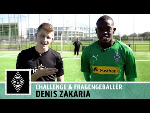 Denis Zakaria: 'Mischung zwischen Xhaka & Dahoud?' | Pass-Challenge | Borussia M'gladbach | Kickbox